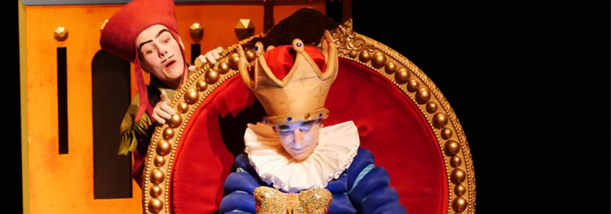 Le spectacle pour enfants L'Empereur et le Rossignol
